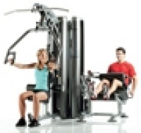 Image of AP-7200 2-Station Multi Gym System (Nylon Pulley's)