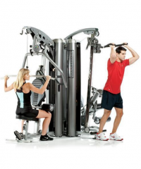Image of AP-7300 3-Station Multi Gym System (Nylon Pulley's)