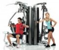Image of AP-7400 4-Station Multi Gym System (Nylon Pulley's)