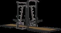 Image of Big Iron Extreme  9Ft / 8Ft Combo Rack