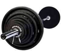 Image of Olympic 300lb. Weight Set