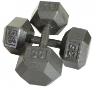 Image of Solid Hex DumbbellsSolid Hex Dumbbells