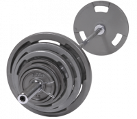 Image of VTX Olympic 300lb. Weight set