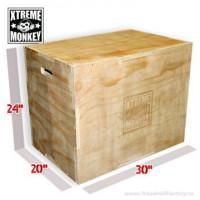 Image of Flat Pack Wood Plyo Box